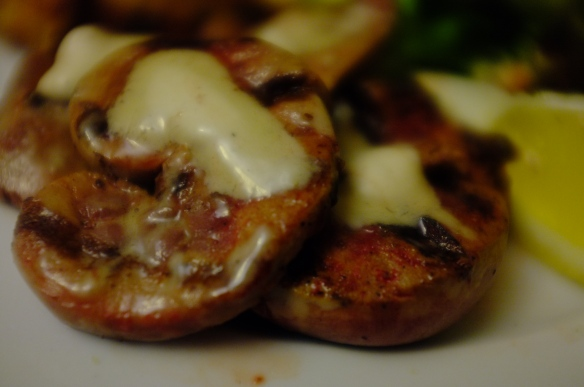 Lambs Kidneys with Anchovy and Rosemary Butter