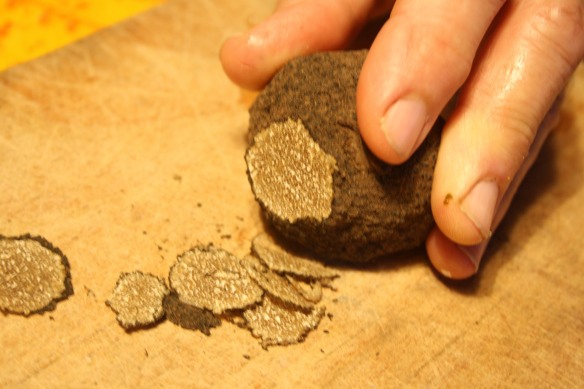 Slicing the truffle